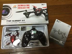 hubsan X4空撮ドローン18